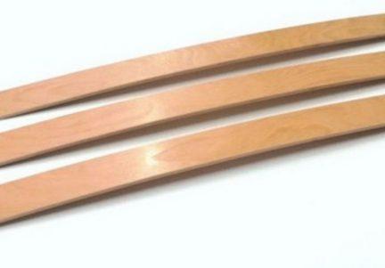 Lamele din lemn de fag, rezistente 6,8 x 0.8 cm