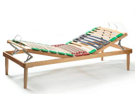 Somiera rabatabila manual din lemn RUR 1