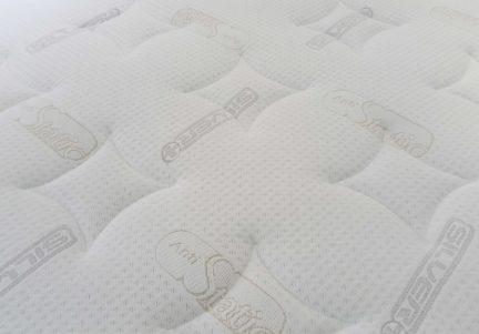 Saltea Memory-Foam Aquagel Clima, material de suprafata cu ioni de argint